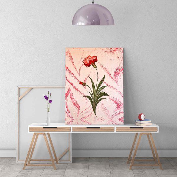 ebru sanatı tablo