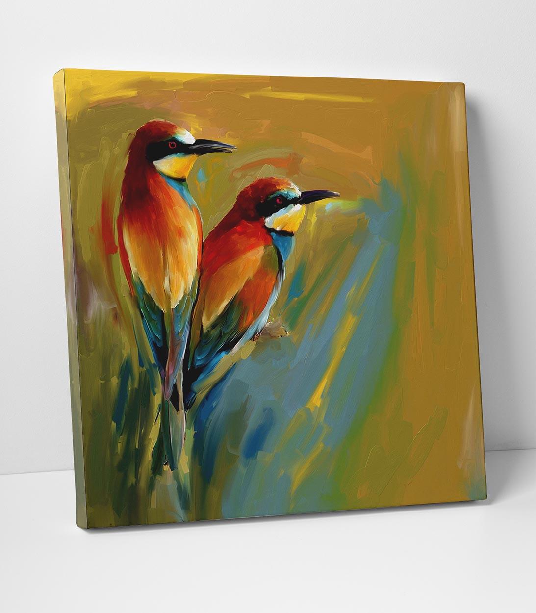 Egzotik Kuşlar Tablo