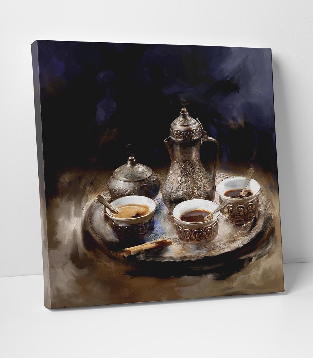 Kahve Kültürü Tablo