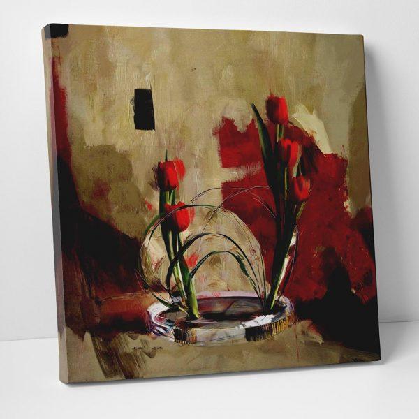 Kırmızı Güller Tablo