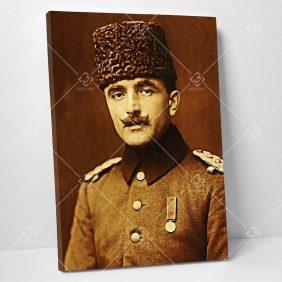 Enver Paşa Kanvas Tablo