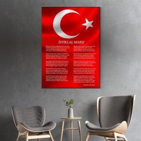 İstiklal Marşı Tablo Satın Al